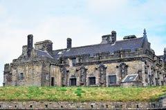Stirling e monumentos a Robert o Bruce e o William Wallace, Escócia fotografia de stock royalty free