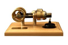 Stirling engine Royalty Free Stock Photography