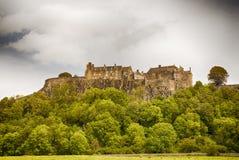 Stirling kasztel Obrazy Royalty Free