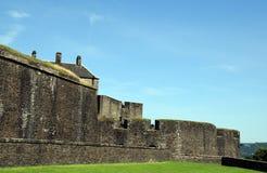 Stirling kasztel - ściany obrazy stock