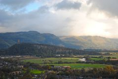 Stirling Landscape Stockbilder