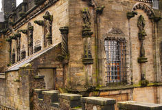 Stirling palace in Scotland. Close up of Stirling palace in Scotland Royalty Free Stock Images
