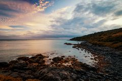 Stirling Point Bluff stock images