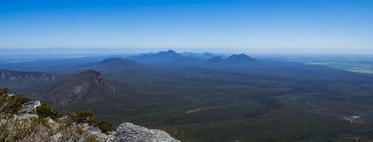 Stirling Range. Stirling Mountain Range landscape panorama, Western Australia Stock Image