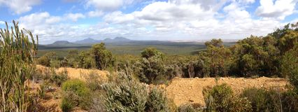 Stirling Range National Park. Panorama from Stirling Range National Park in Western Australia Royalty Free Stock Photography