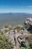 Stirling Range National Park, Western Australia. Panoramic view over the hills of the Stirling Range National Park close to Mount Barker, Western Australia Stock Photography