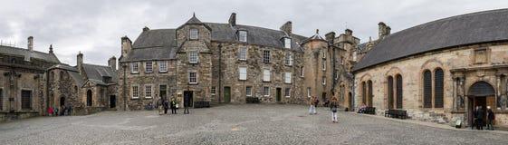 Stirling castle, Scotland stock photos