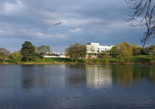 Stirling University. Is set on a campus built in the landscaped grounds of Airthrey Castle. It is an easy walk with spectacular views Stock Image
