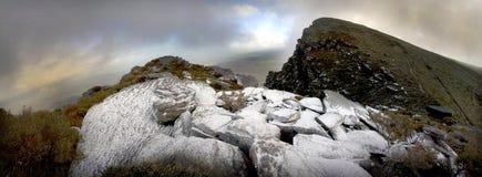 Stirlings Schnee panoramisch Stockfotografie