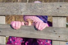 Stirra för flicka Fotografering för Bildbyråer