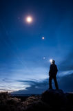 Stirra för stjärna Fotografering för Bildbyråer