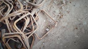 Stirrub или beem кожуха стальное на окисленный Стоковые Фото