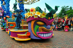 Stitch at disney parade Royalty Free Stock Images