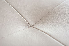 Stitch of a gray sofa Royalty Free Stock Images