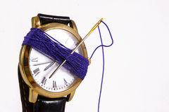A Stitch in Time Royalty Free Stock Image