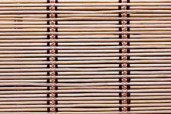 Stitched bamboo background. Royalty Free Stock Photography