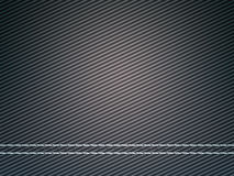 Stitched carbon fiber: Useful as texture. Or background Royalty Free Stock Photography