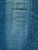 Stitched denim Stock Photo