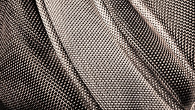 Stitched fabric texture close image Stock Photography