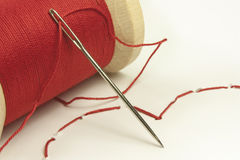 Stitched heart Royalty Free Stock Photo