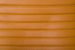 Stitched leather. A background of stitched leather Stock Photos
