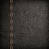 Stitched leather background Royalty Free Stock Image