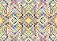 Stitched seamless pattern Royalty Free Stock Images