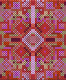 Stitched seamless pattern Stock Photo