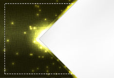 Stitched Textile and sparks theme background template Stock Photos