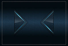 Stitched Textile and sparks theme background template Royalty Free Stock Photography