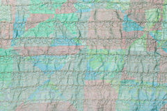 Stitched transparent green silk fabric Royalty Free Stock Photo