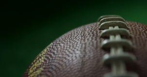 Stitches on American football 4k