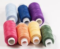 Stitching cotton Stock Photography