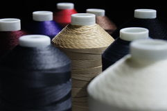 Stitching. Few roll of colorful stitching Royalty Free Stock Images