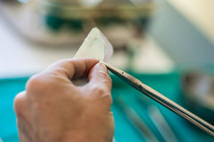 Stitching Royalty Free Stock Photo