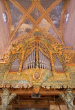 Stitnik - Baroque organ from year 1723 in gothic evangelical church in Stitnik from 14 - 15 cent. Stock Images