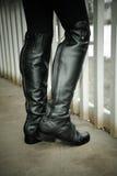 Stivali da equitazione Immagine Stock Libera da Diritti