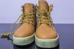 Stivali degli uomini Fotografia Stock