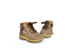 Stivali dei bambini s Fotografia Stock