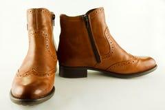 Stivali della caviglia Fotografie Stock