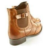 Stivali della caviglia Fotografia Stock