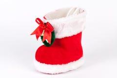 Stivali della st Claus Immagini Stock