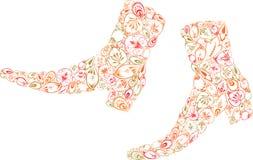 Stivali di autunno Fotografia Stock