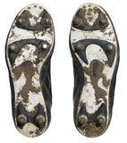 Stivali di calcio Fotografia Stock