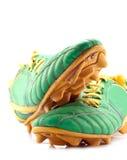 Stivali di calcio Fotografia Stock Libera da Diritti