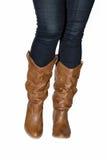 Stivali di cowboy. Fotografia Stock Libera da Diritti
