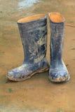 Stivali di gomma Immagine Stock