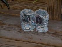Stivali di pietra Fotografia Stock