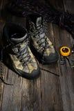 Stivali di trekking Fotografie Stock Libere da Diritti