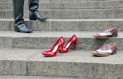Stivali e scarpe Immagini Stock Libere da Diritti